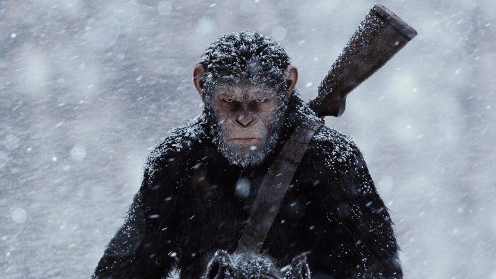 Война за планету обезьян. обои скачать