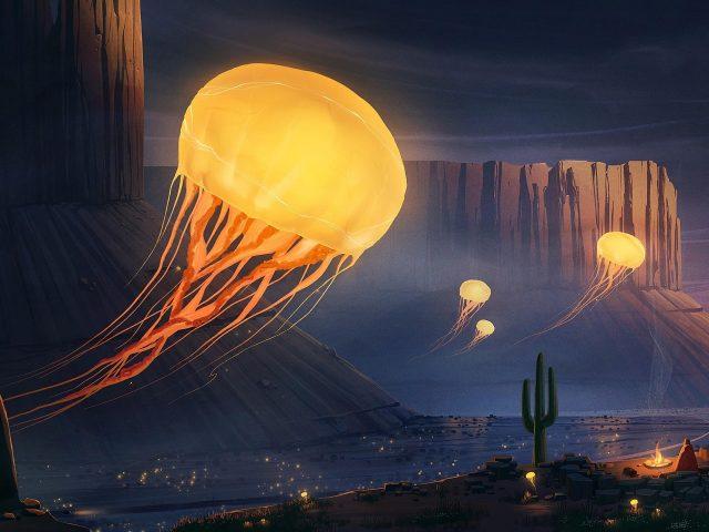 Фантазия о медузах