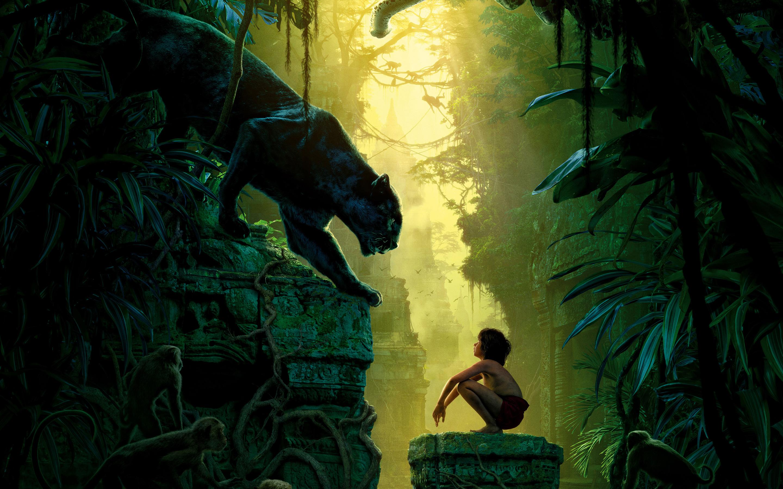 Книга джунглей фильм. обои скачать