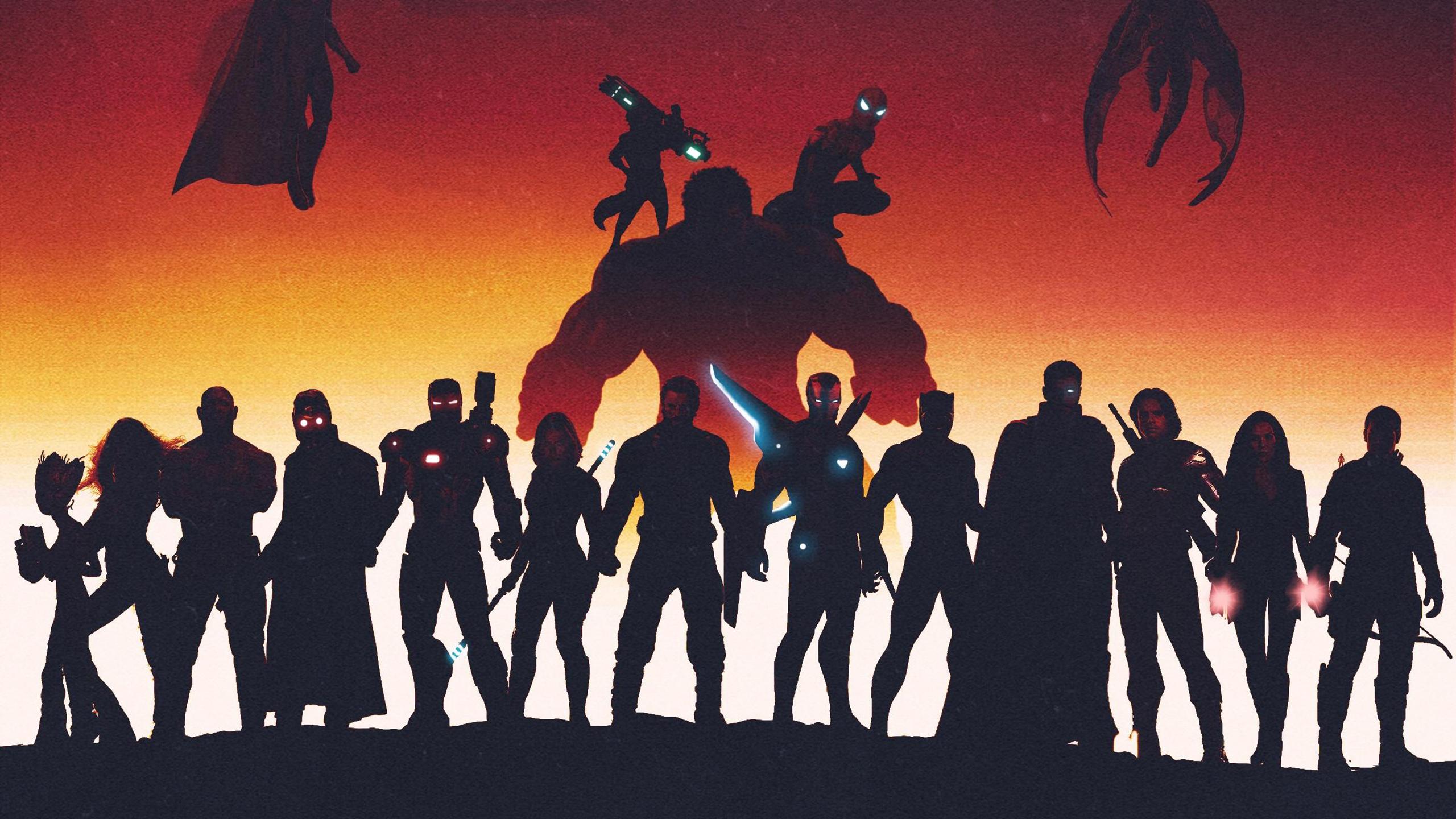 Мстители Марвел супергерои обои скачать