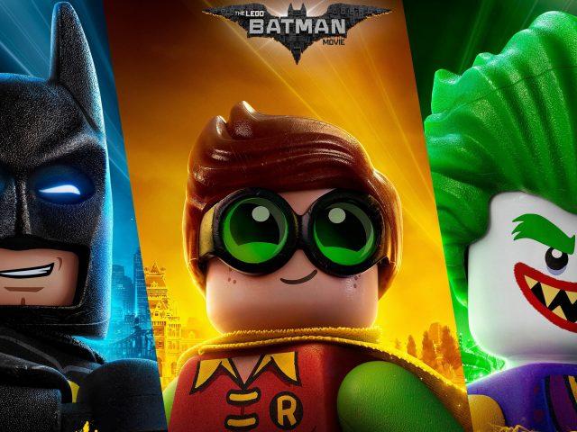 Лего Бэтмен Джокер Робин.