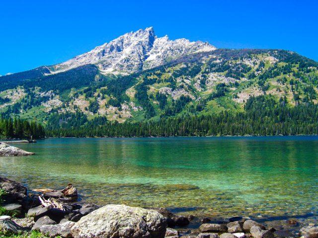Дженни Лейк Гранд Титон национальный парк