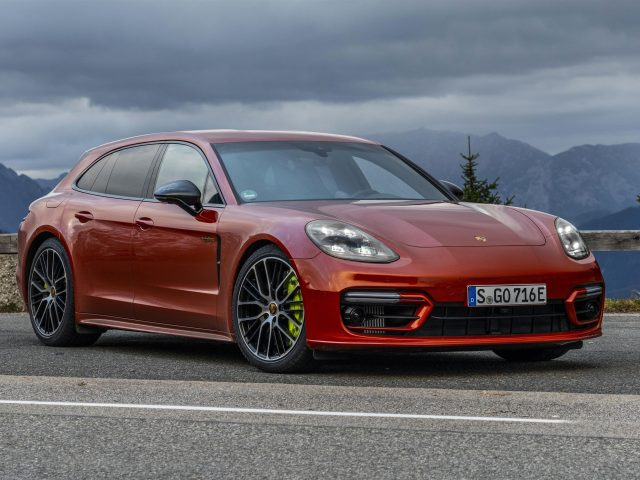 Porsche panamera 4 e-hybrid sport turismo sport design package 2021 3 автомобиля