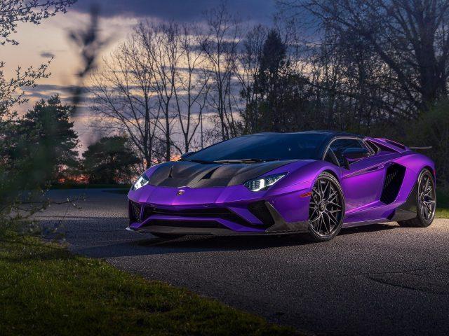 Lamborghini aventador 9 автомобилей