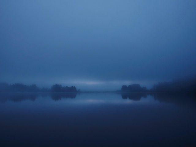 Пейзаж темного часа