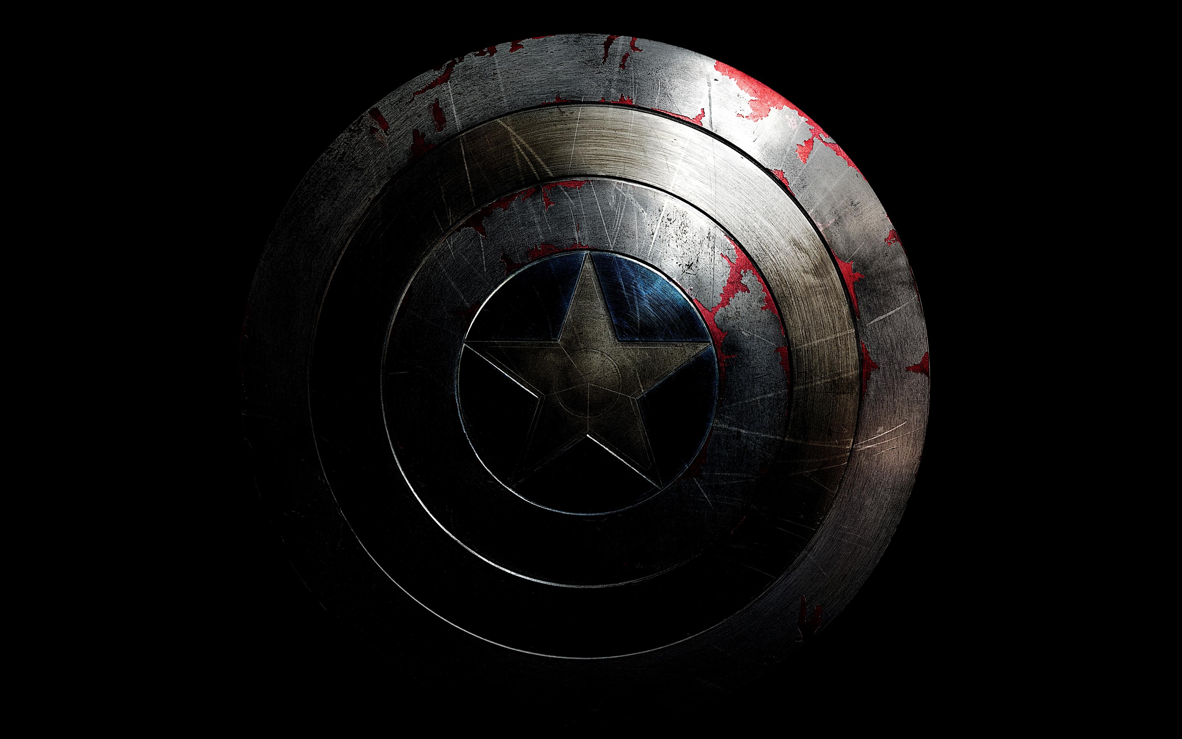 Капитан Америка щит обои скачать