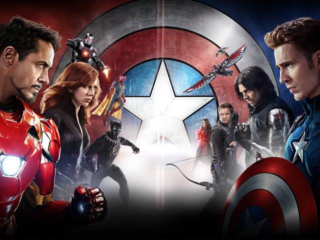 Капитан Америка гражданская война в HD.