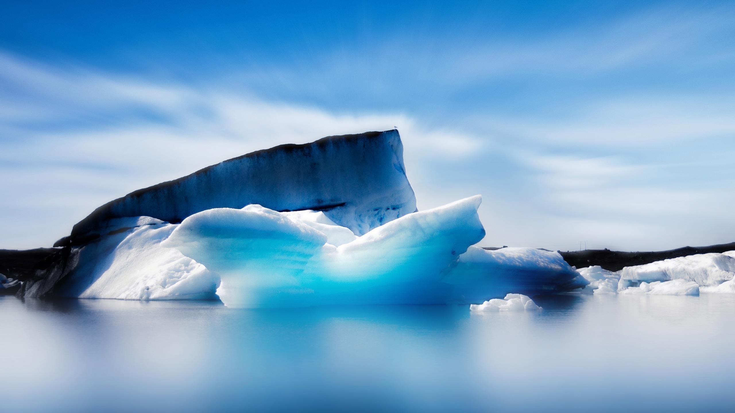 Ледяной айсберг обои скачать