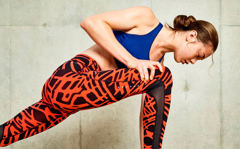 Женщин леди фитнес-тренировки. обои скачать
