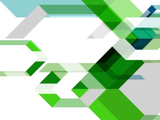 Зеленые белые шестиугольники геометрические фигуры абстракция абстракция