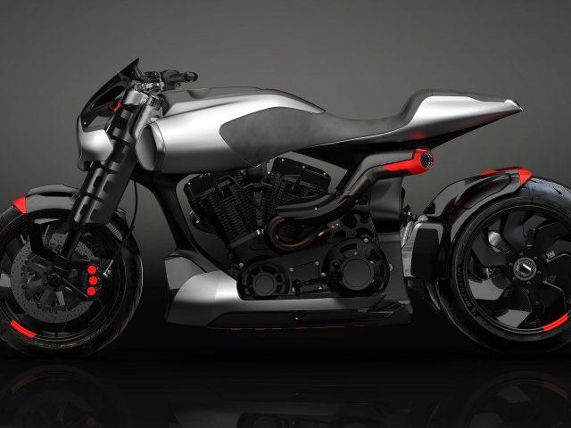 Арочный мотоцикл method143 концепция