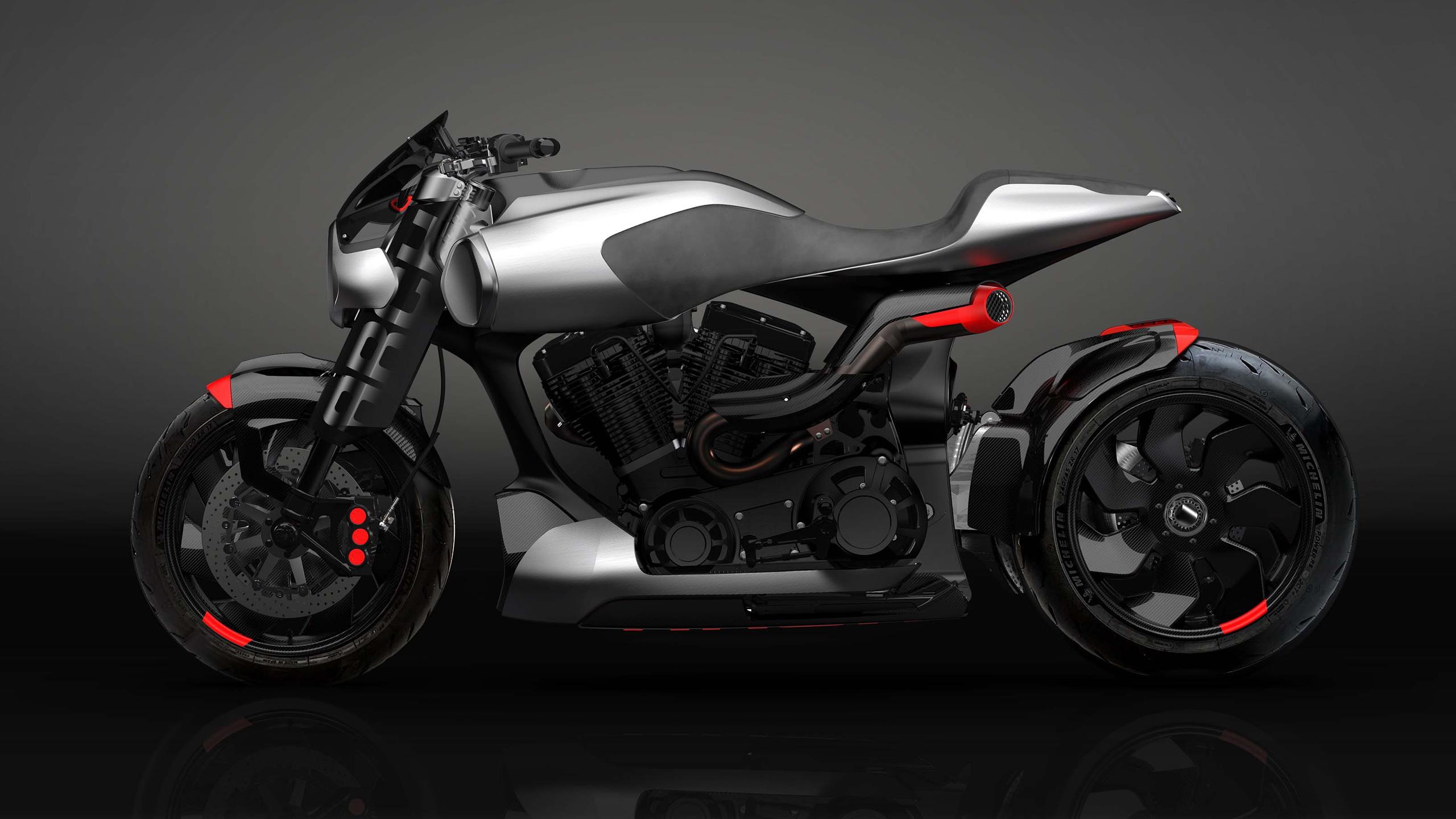 Арочный мотоцикл method143 концепция обои скачать