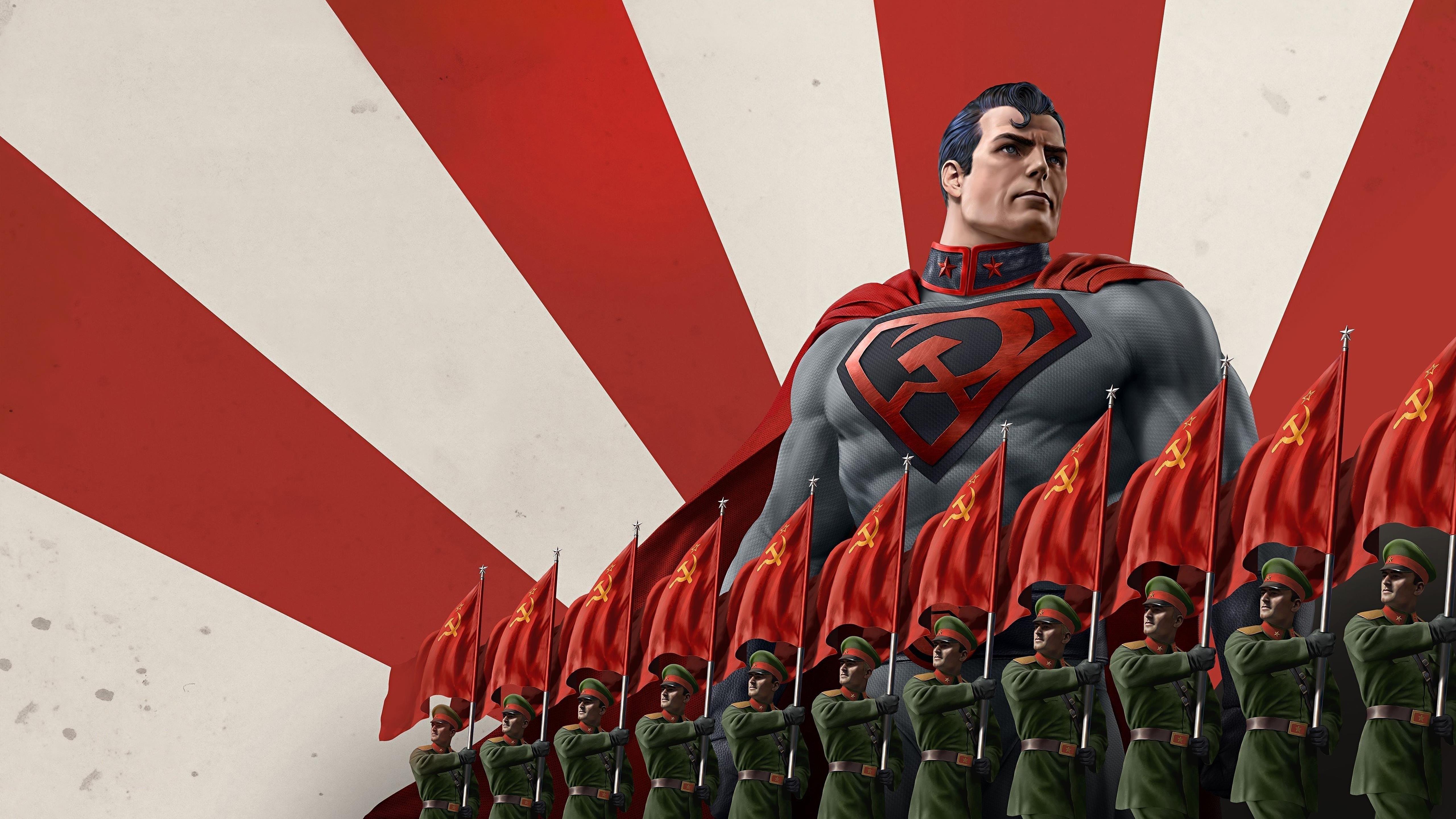 Супермен Красный сын 2020 обои скачать