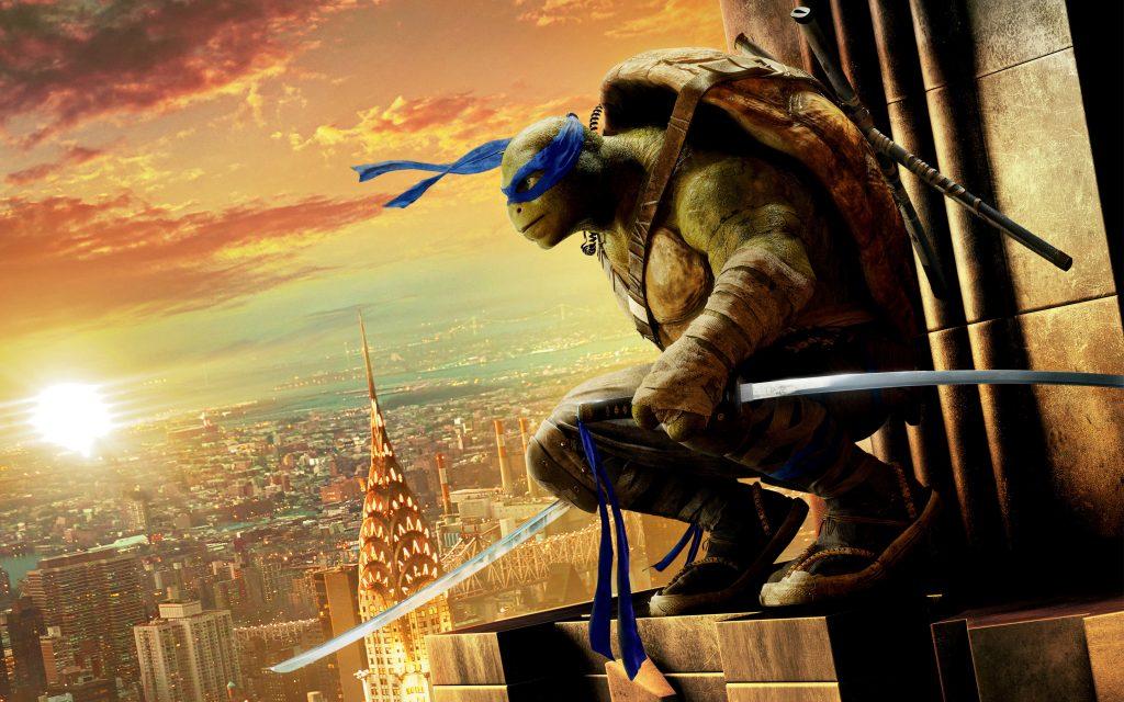 Леонардо черепашка ниндзя выход из тени. обои скачать