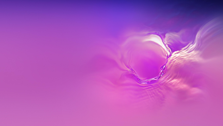 Samsung galaxy s10 фиолетовый абстрактный запас обои скачать