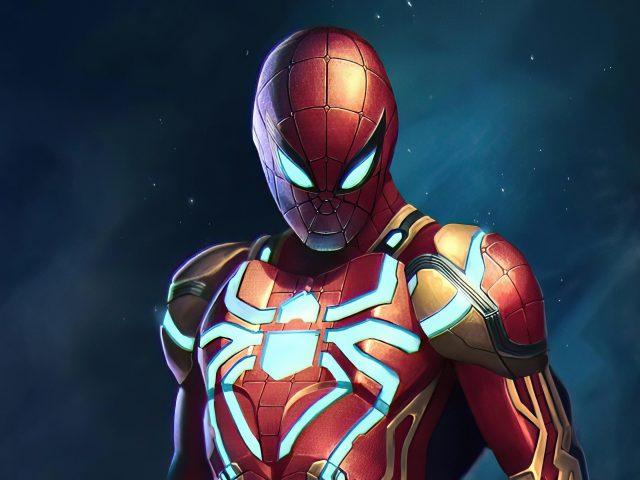 Человек паук новые доспехи супергероев