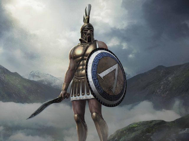 Король Леонид тотальная военная арена