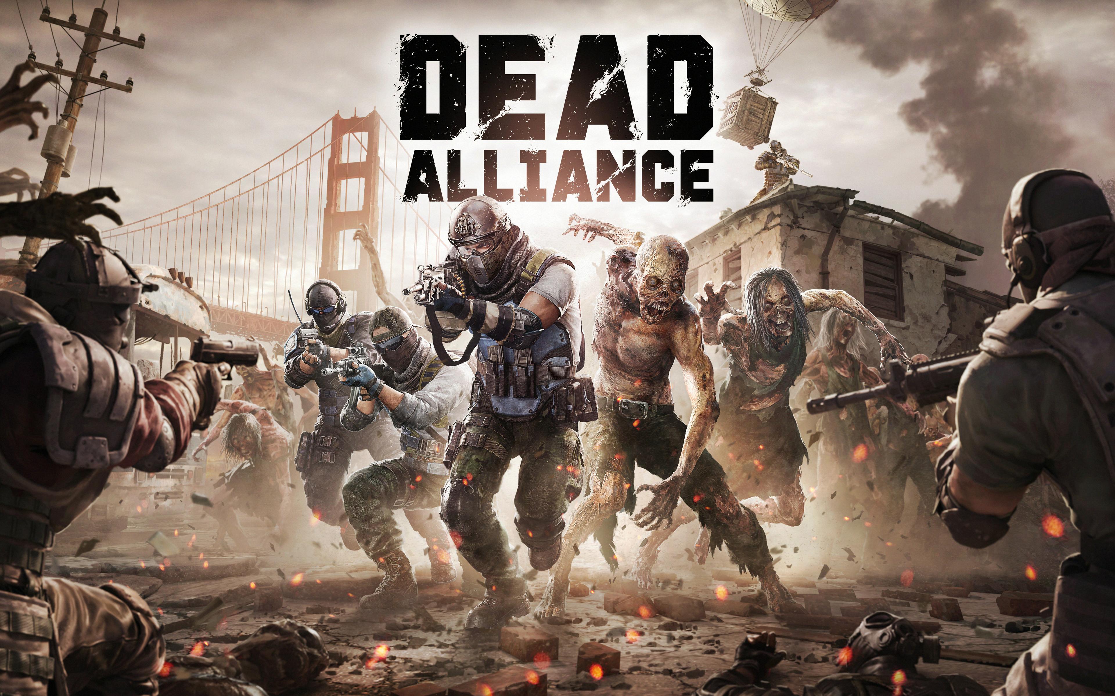 Мертвые игры Альянс 5к. обои скачать