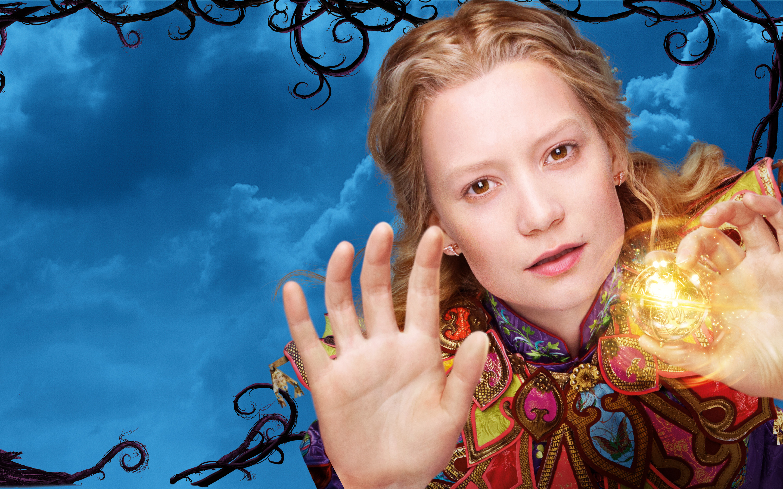 Миа васиковска Алиса в Зазеркалье. обои скачать