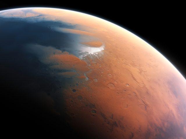 Планета Марс 8k