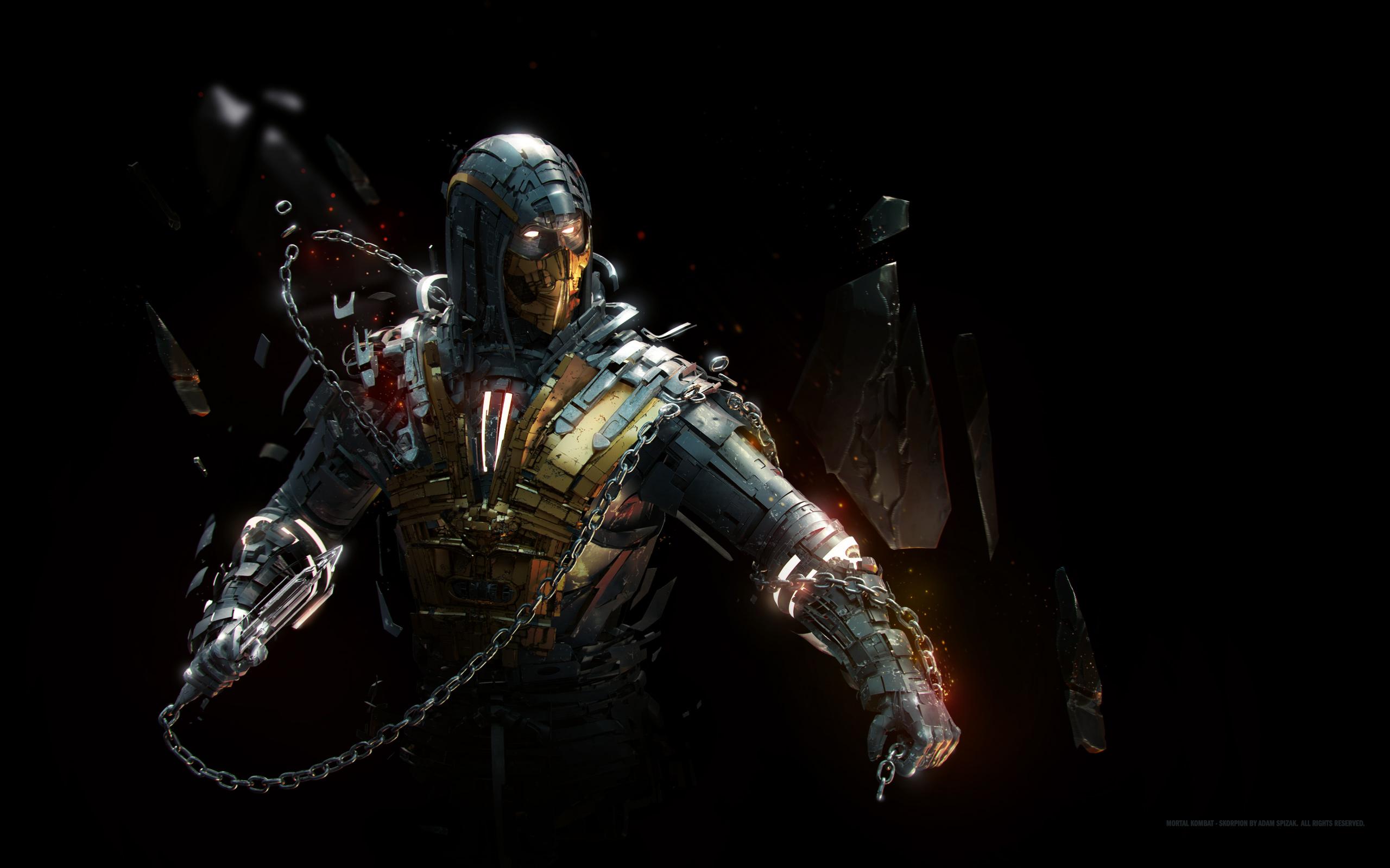 Scorpion artwork. обои скачать