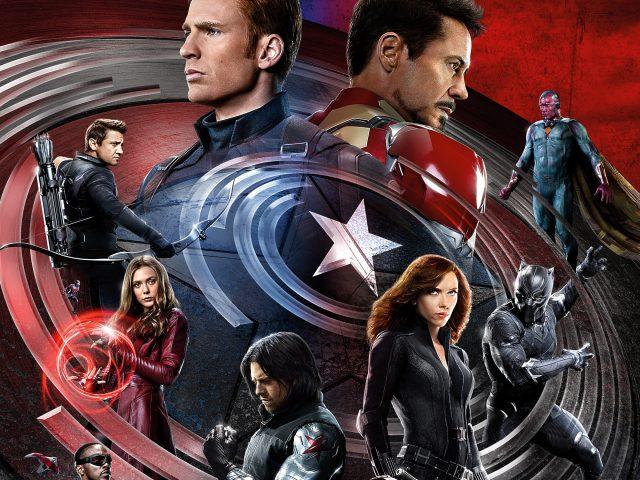 Капитан гражданской войны Америка Железный человек.