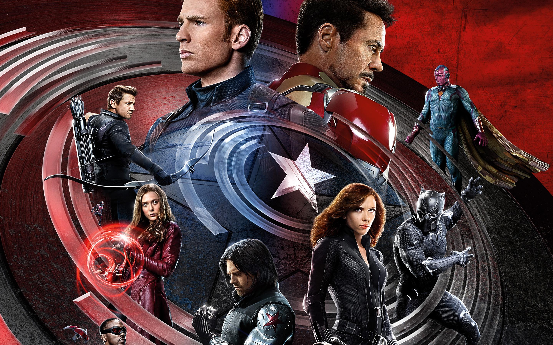 Капитан гражданской войны Америка Железный человек. обои скачать