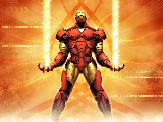 Железный человек 2020 арт супергерои