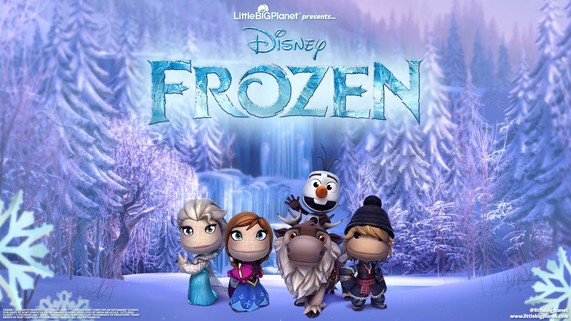 В LittleBigPlanet 3frozen. обои скачать