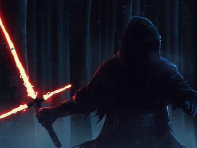 Кайло-kylo РЕН Звездные войны силы пробуждает художественное произведение
