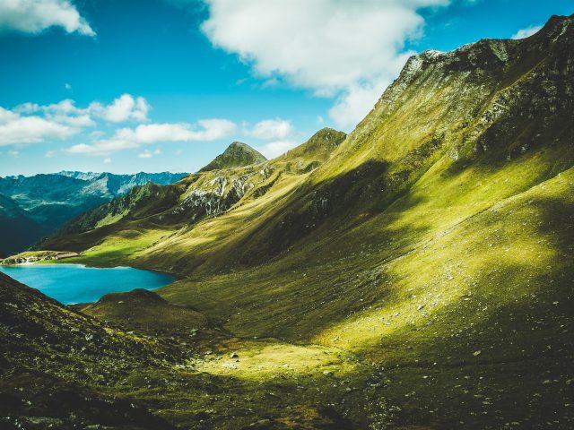 Летние горы