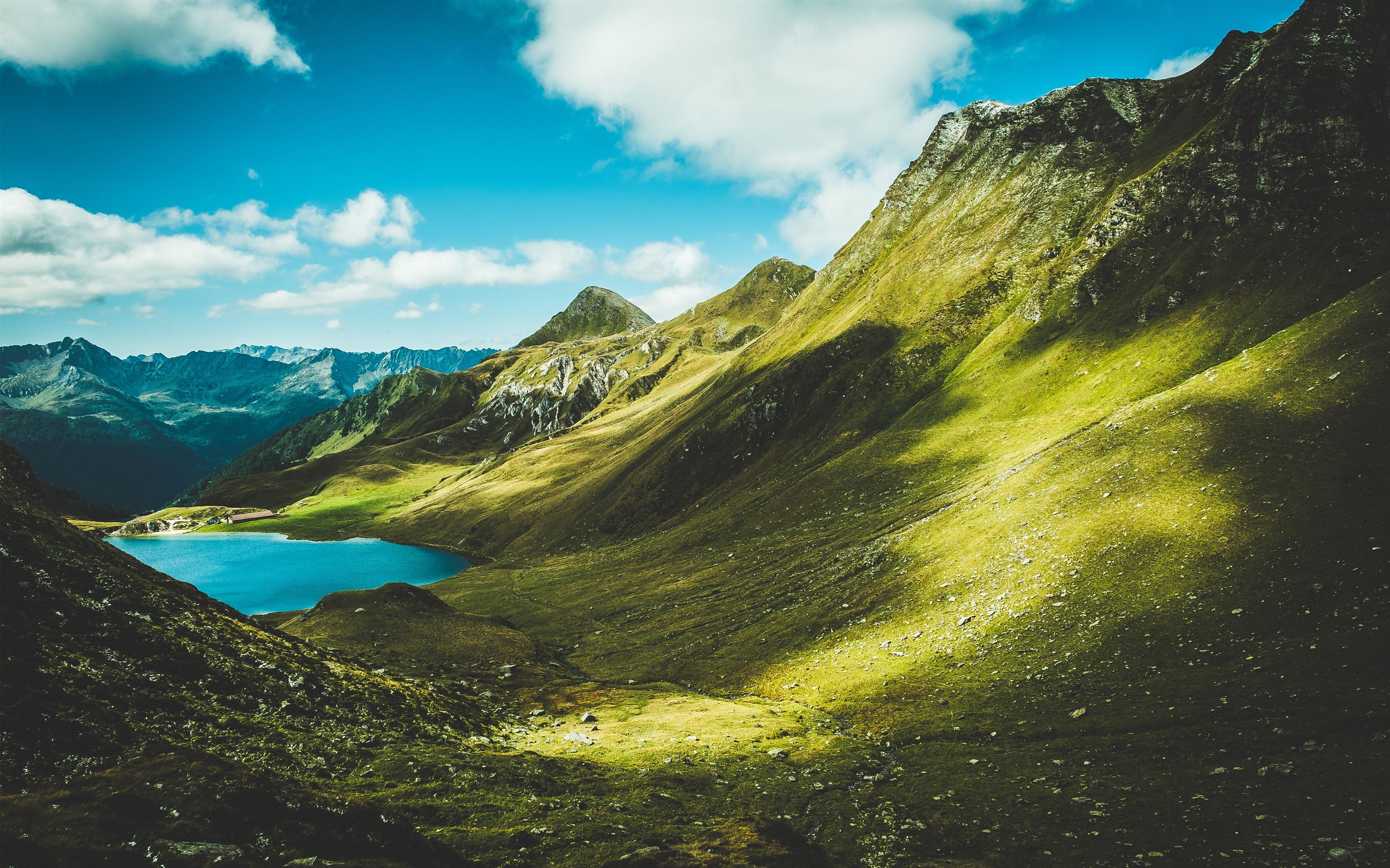 Летние горы обои скачать