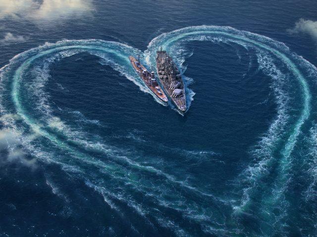World of warships День Святого Валентина специальный