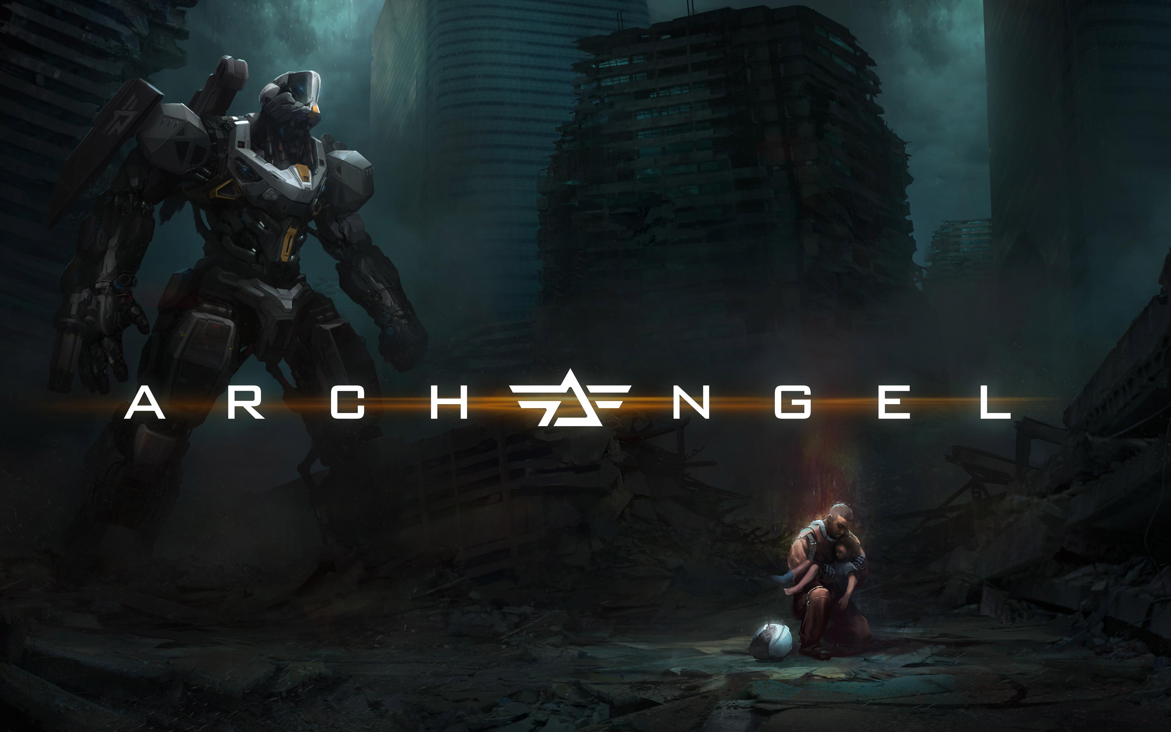 Игру archangel для PlayStation ВР. обои скачать