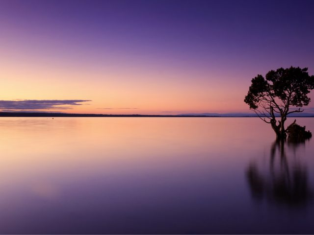 Спокойный закат
