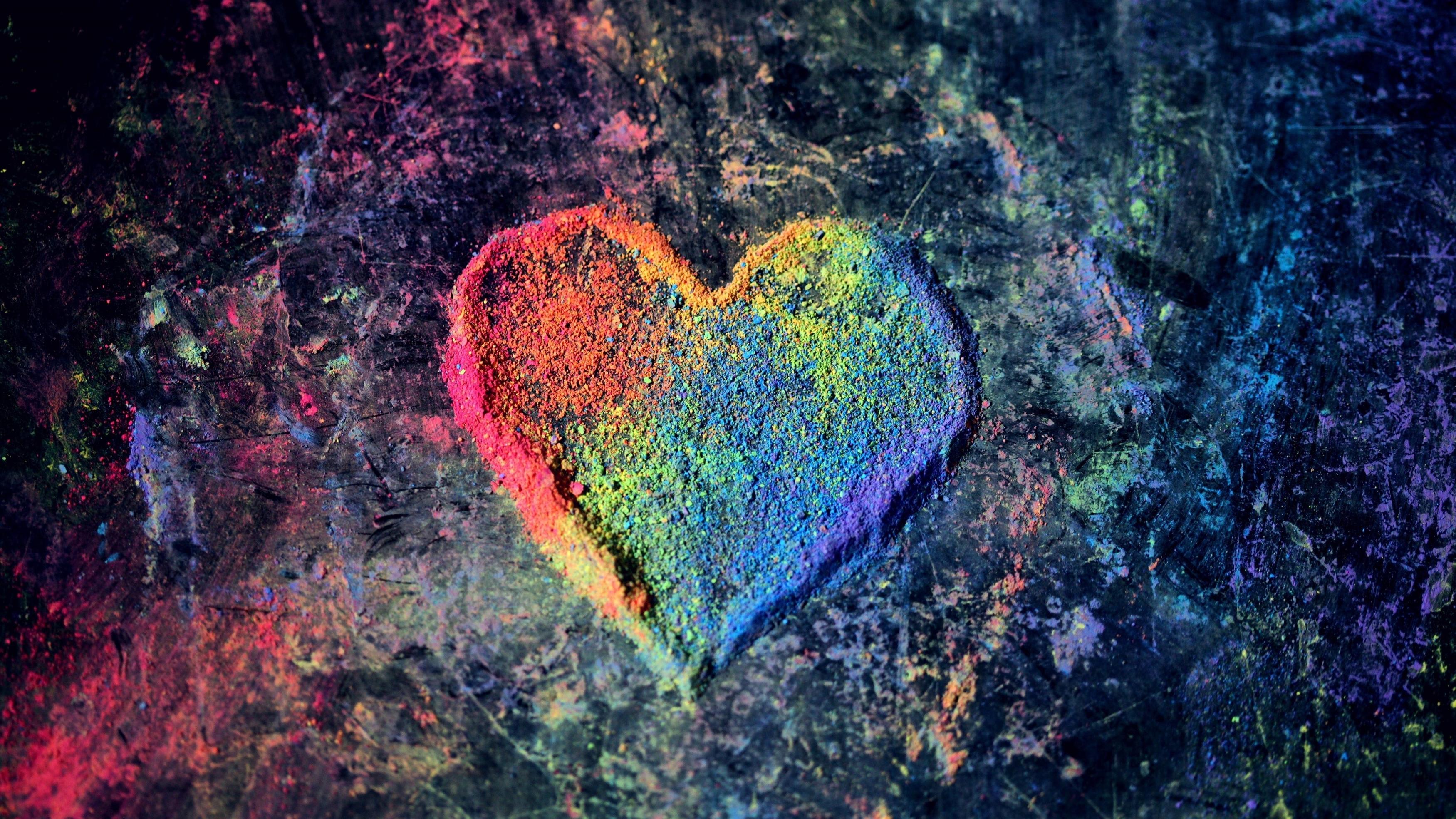 Красочные Валентина любовь сердце обои скачать