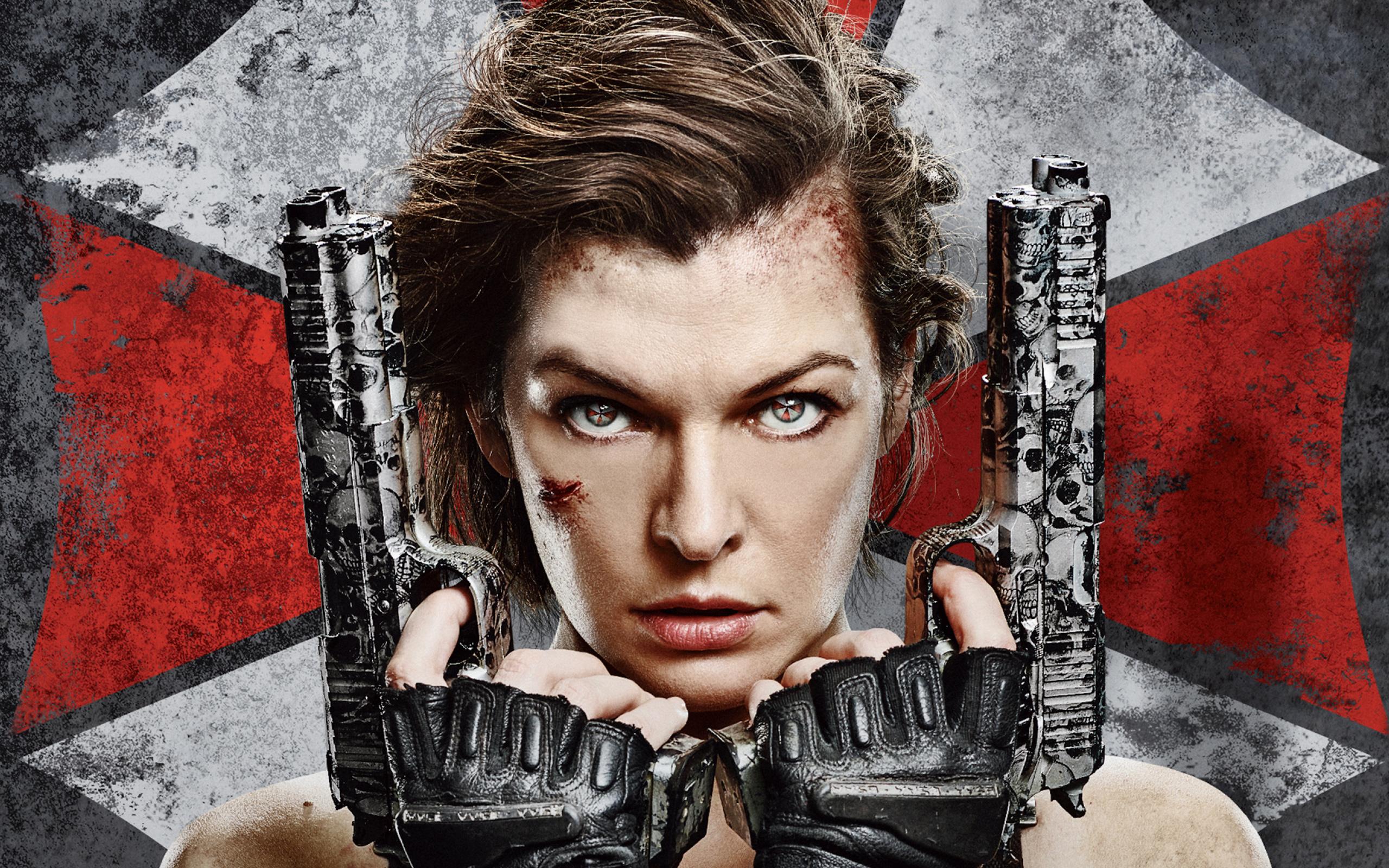 Resident Evil 6 Milla Jovovich обои скачать