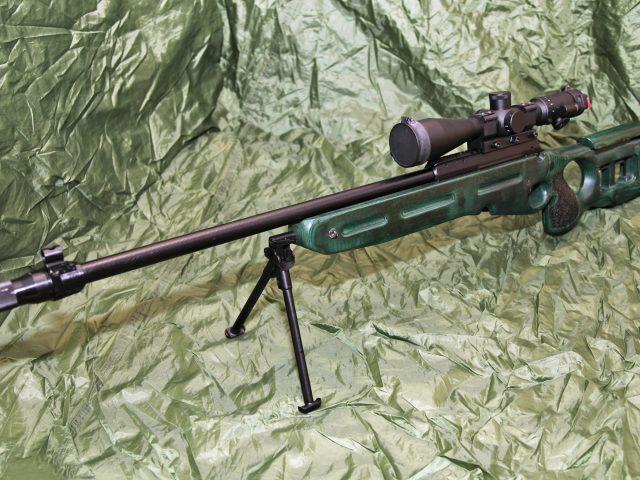 7.62мм,  снайперская винтовка,  СВ-98,  sniper rifle