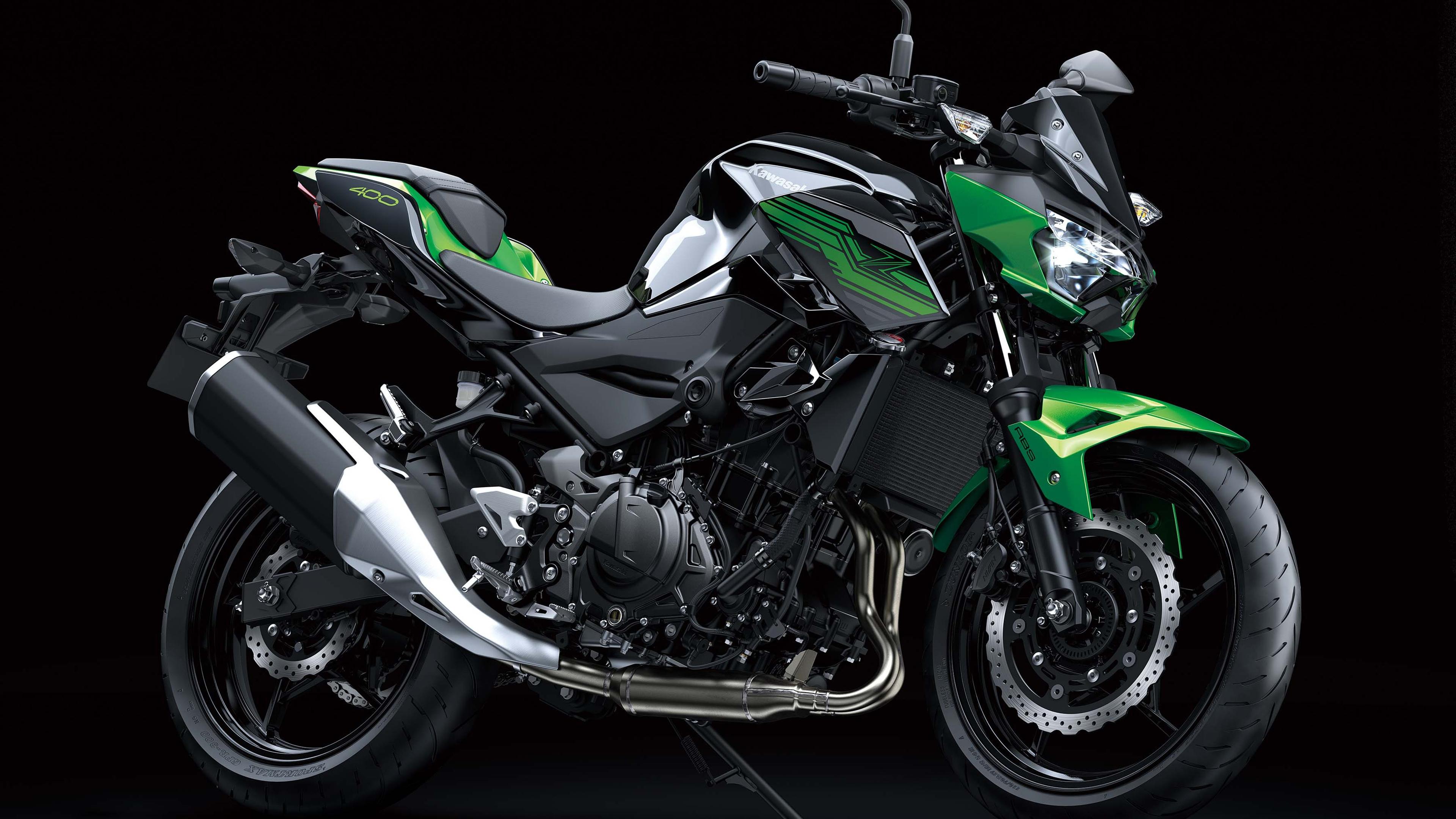 Kawasaki z400 обои скачать