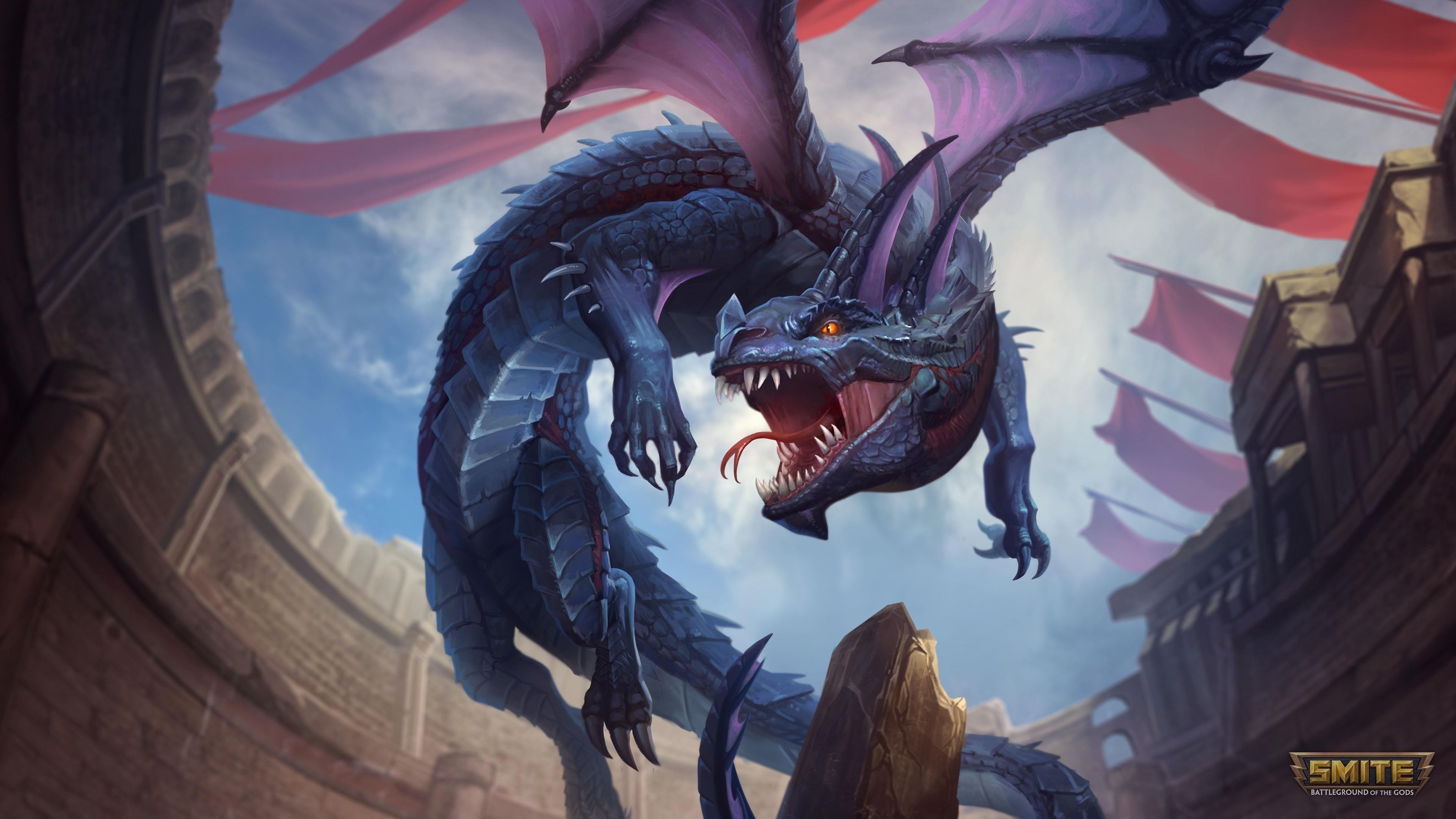 Кукулькан драконов яростью поражает обои скачать