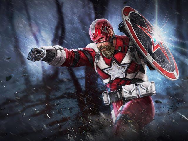 Красный Страж Марвел битва будущего