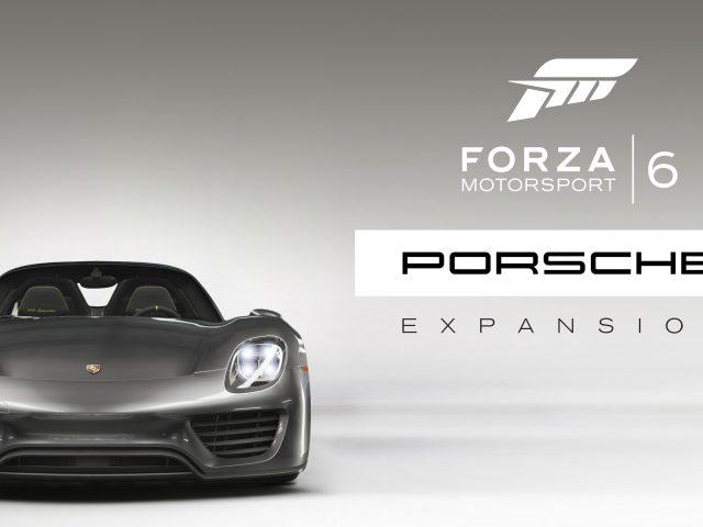 Форза моторспорт 6 расширение Порше.