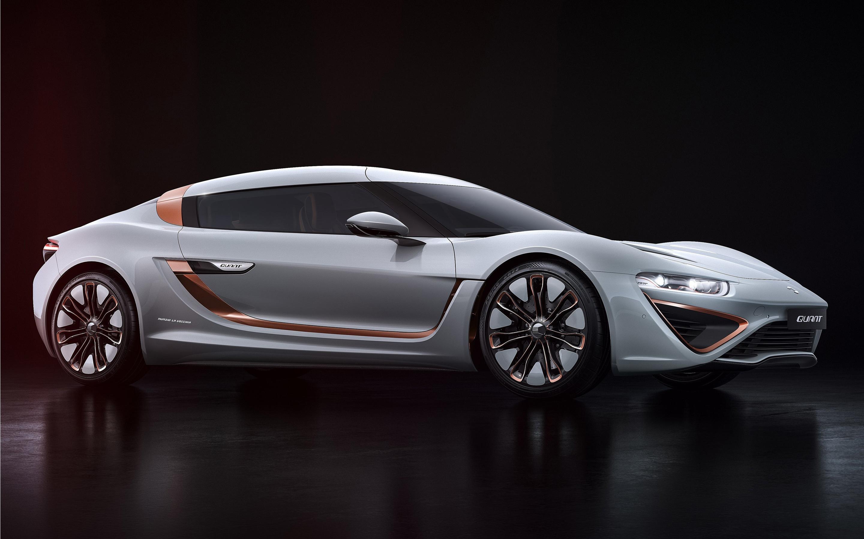 Nanoflowcell quant concept car 48volt. обои скачать
