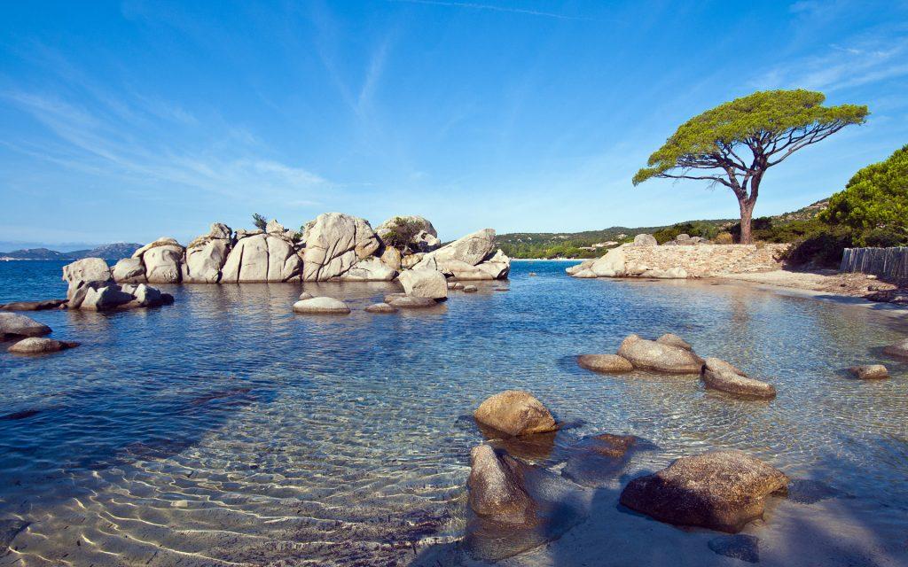 Пляжа паломбаджа солнечный. обои скачать