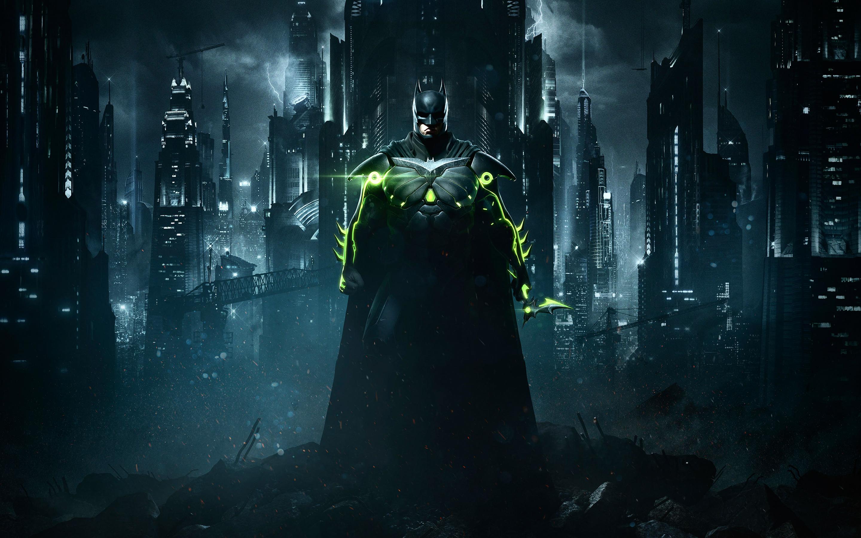 Несправедливость 2 Бэтмен. обои скачать
