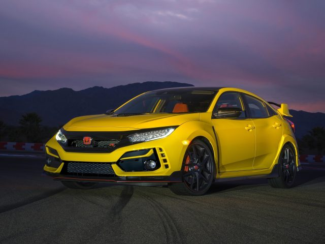 2021 honda civic type r limited edition автомобили