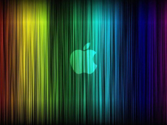 Яблочная Радуга абстракция