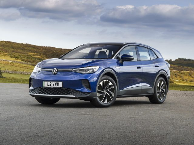 Volkswagen id 4 pro 2021 автомобилей