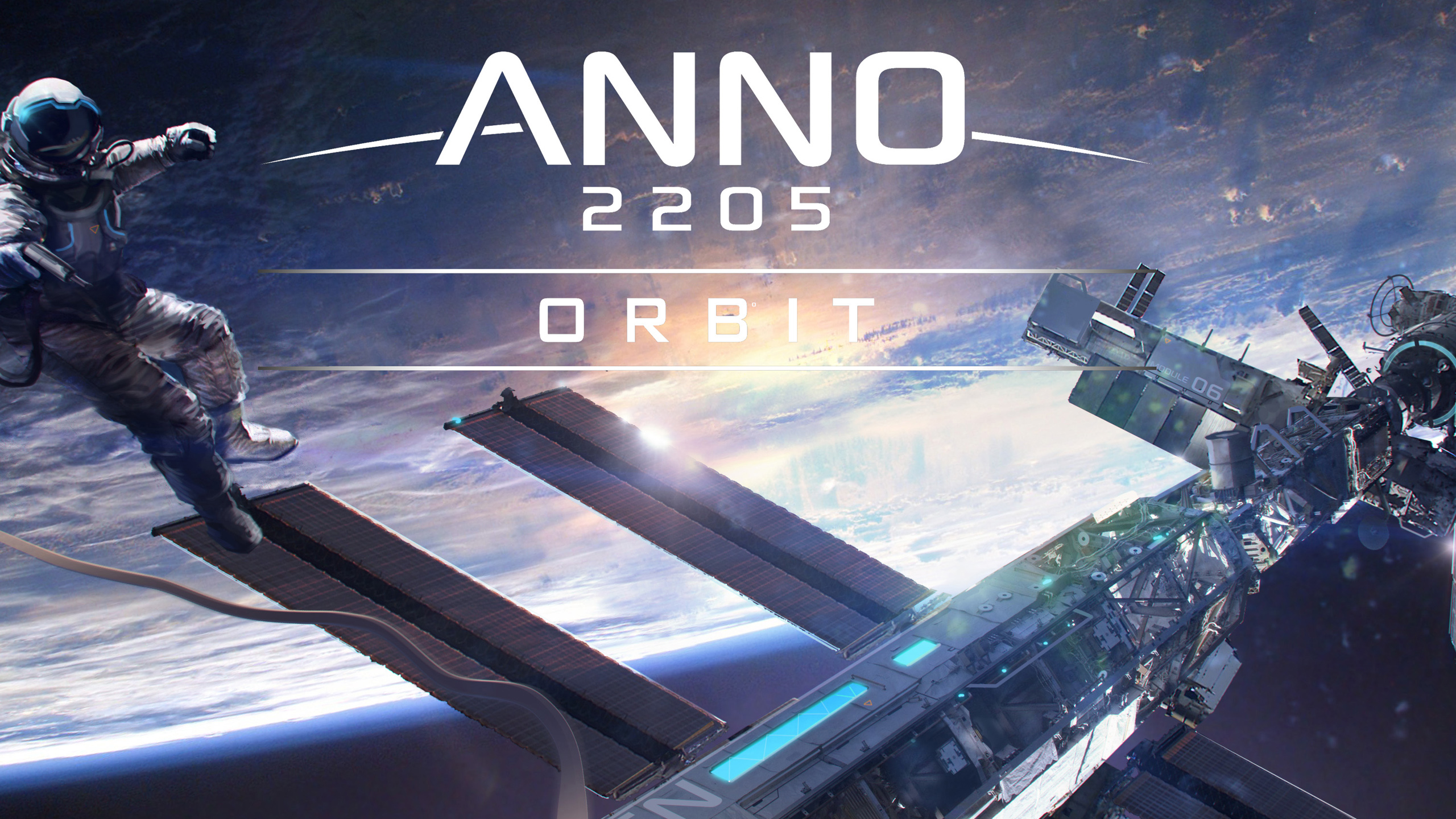Анно 2205 орбите сжо. обои скачать
