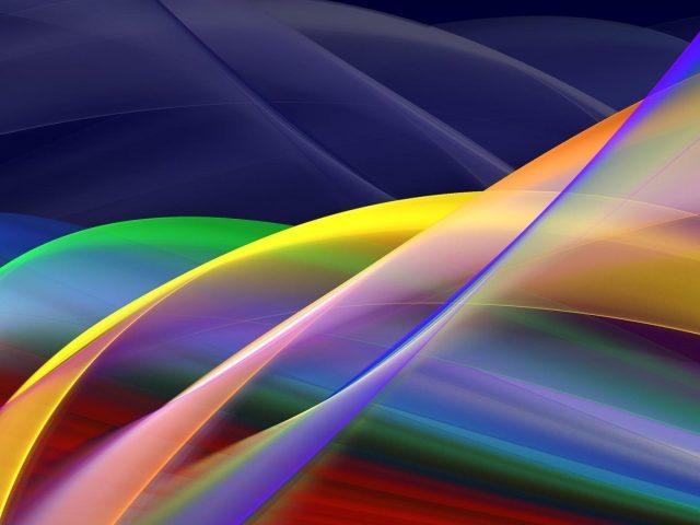 Блики линии волнистый фрактальный художественный узор абстрактный